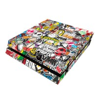 produk istimewa PS4 Skin Stickerbomb