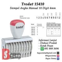 Stempel Angka Manual 10 Digit 4mm Trodat 15410