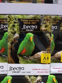 Kertas Foto Glossy 210g A4 Spectra / Glossy photo paper