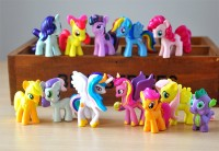 Mainan Figure My Little Pony Set Isi 12 - Cake Topper
