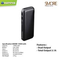 Hippo Power Bank SMORE 15000MAH Simple Pack