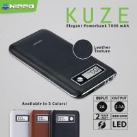 Hippo Power Bank KUZE 7000 MAH Digital Indicator Battery Simple Pack