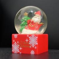 (SALE) Waterball Bola Kristal Air Santa Pohon Kereta Christmas Natal
