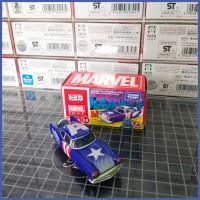 Tomica Marvel Avengers TUNE Evo 8.0 Missile Yard Captain America