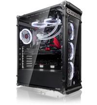 Raijintek COEUS EVO TC - All SideTempered glass - Include 4pcs Led Fan - 2×USB 3.0 + 1× TYPE C Port