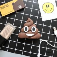 Powerbank Karakter Emoji Emoticon 8800mAh Power Bank