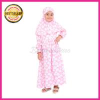 harga Baju gamis anak perempuan cewek motif lucu + kerudung size junior Tokopedia.com