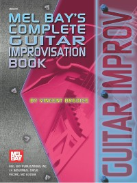 Buku Gitar Complete Guitar Improvisation Book