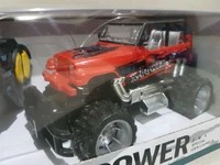 Mainan remote control Jeep offroad xpower Skala 1:24 Bad2 xpower red m