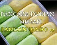 Pancake Buah Durian Medan Makanan Beku Makanan Manis Frozen food