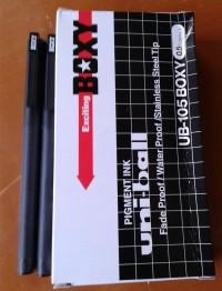 UNI-BALL. PENA BOXY 0.5mm. UB-105 BOXY.