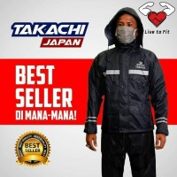 Jas Hujan Takachi Japan uk M,L & XL