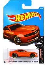 2013 Hot Wheels Chevy Camaro Special Edition ORANGE Hot Wheels HW