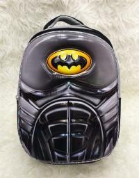Tas Ransel Anak Sekolah SD import Batman Premium 6D Timbul