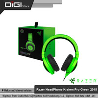 HeadPhone Razer Kraken Pro Green 2015