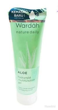 Wardah Aloe Vera Hydramild Multifunction Gel Hydrating Lotion Nature