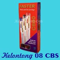 Ballpoint Pulpen Merk Faster C 600 Per Pak Isi 12