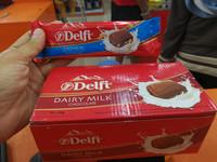 COKLAT DELFI BAR 10*60GR ( box ) / DELFI DAIRY MILK 60GR
