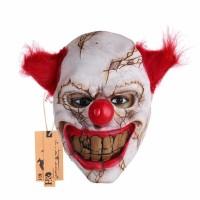 Topeng Badut Seram Clown Mask Party Halloween Cosplay Payday Latex