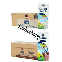 Susu UHT Ultra Milk Low Fat 200ml