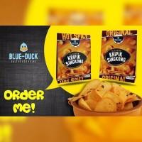 Blue Duck Kripik Singkong Salted Egg