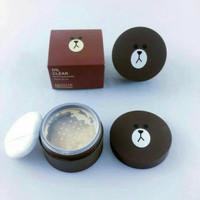 missha original oil clear blotting powder line teddy brown 15 gram