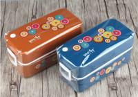 Kotak makan Lunch Box Tempat makan 2 tingkat Yooyee Bekal anak 594