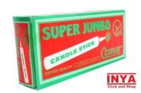 Lilin Lampu CAMAR SUPER JUMBO CANDLE STICK isi 8 Batang