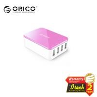 ORICO CSI-4U 4-Port Portable Desktop USB Super Charger - PINK