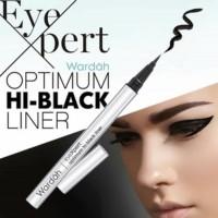Wardah Eyeliner EyeXpert Optimum Hi-Black Liner Hitam Waterproof