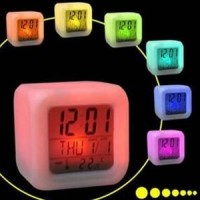 jam dadu/JAM DIGITAL MOODY CLOCK JAM KUBUS POLOS DIGITAL BERUBAH warna