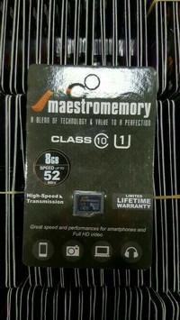 harga Sdcard class 10 uhs 1 maestro 8gb Tokopedia.com