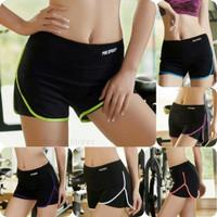 celana sport pendek hotpan zumba gym fitness erobik jogging yoga senam