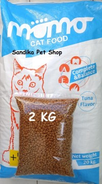 MAKANAN KUCING MURAH MOMO CAT 2 KG NO MAXI BOLT FELIBITE WHISKAS JIO