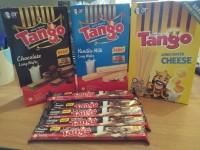 Tango Long Chocolate Wafer (1 Box Isi 20 Pcs @ 8 gr)