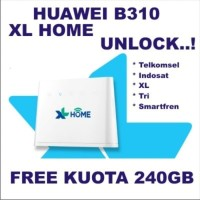 Home Router 4G Huawei B310 Gratis XL 240GB UNLOCKED