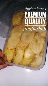 durian kupas asli medan manis