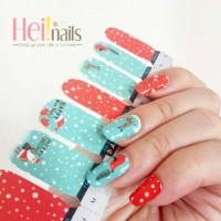 heinails nailsticker - stiker kuku christmas santa claus HN0165