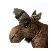 GO SEND IKEA STROVA Boneka Elk, cokelat, abu-abu