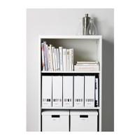 GO SEND IKEA Tjena - File Majalah, Putih, Set Isi 2