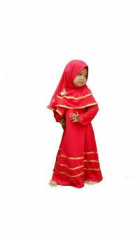 gamis syar'i cewek termurah / baju muslim anak perempuan terlaris