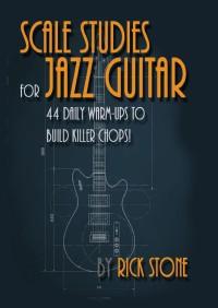 Buku Gitar Scale Studies For Jazz Guitar