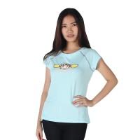 harga Surfer girl - kaos casual lengan pendek blue - 8lamani Tokopedia.com
