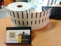 LABEL BARCODE 32 X 18 (3 LINE) KERTAS STICKER LABEL SEMICOATED 32x18