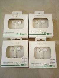 Oppo R11 Ori Earphone Putih Headset HP R9 R1 R7S R7 A57 F1 F3