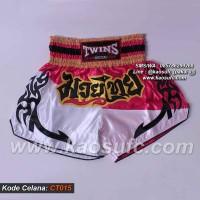 Celana Muay Thai Twins, Celana MuayThai, Muay Thai Shorts CT015