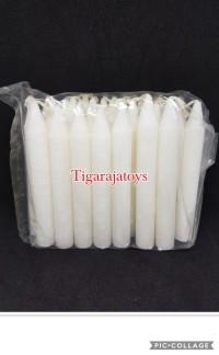 Lilin Putih Polos Isi 24 Batang