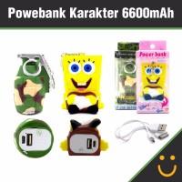 Power bank / Powerbank Karakter 6600mAh ( BEST SELLER )