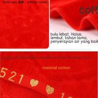 Istimewa Handuk cotton bordir pengantin modern & kuno souvenir teapai