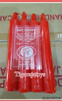 Lilin Merah Batangan Isi 8 Batang